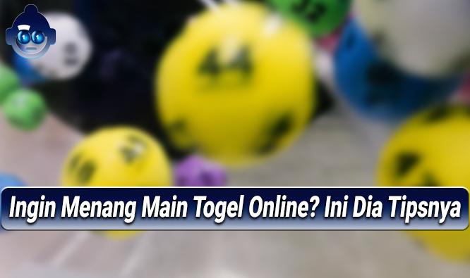 Ingin Menang Main Togel Online? Ini Dia Tipsnya